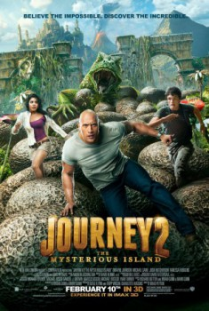 poster Journey 2: The Mysterious Island  (2012)