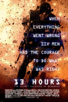 poster 13 Hours  (2016)