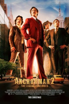 poster Anchorman 2: The Legend Continues  (2013)