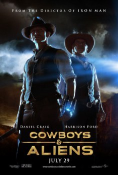 poster Cowboys & Aliens  (2011)