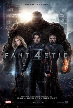 poster Fantastic Four  (2015)