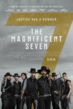 poster The Magnificent Seven  (2016)