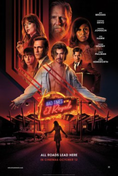 poster Bad Times at the El Royale  (2018)