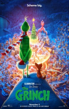 poster Dr. Seuss' The Grinch  (2018)
