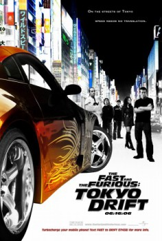 poster The Fast and the Furious: Tokyo Drift  (2006)