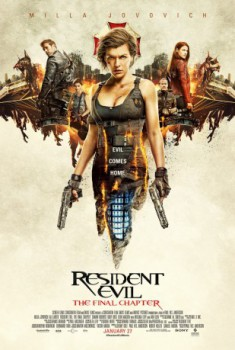 poster Resident Evil: The Final Chapter  (2016)