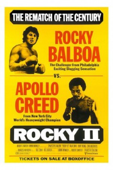 poster Rocky II  (1979)