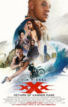 poster xXx: Return of Xander Cage  (2017)