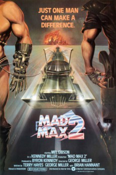 poster Mad Max 2: The Road Warrior  (1981)