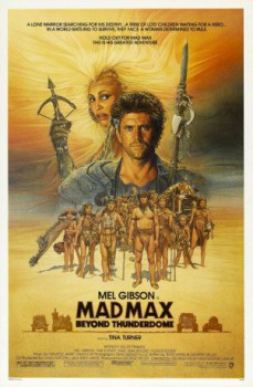 poster Mad Max Beyond Thunderdome  (1985)